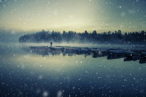 Finland Photograph - Winter Is Coming. by Mika Suutari