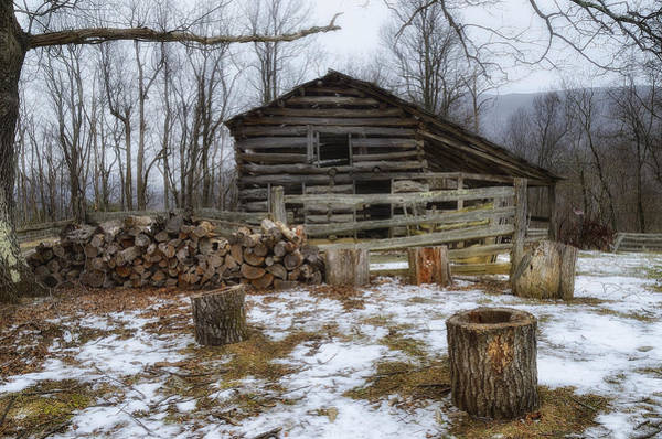 Wall Art - Photograph - Winter Is Coming To The Farm by Steve Hurt
