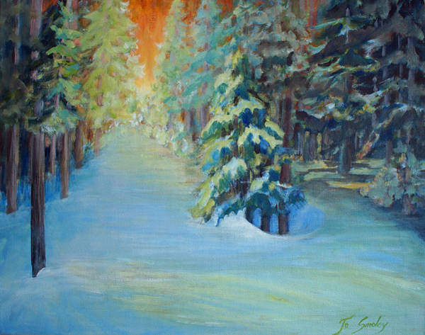 Painting - A Road Less Travelled by Joanne Smoley