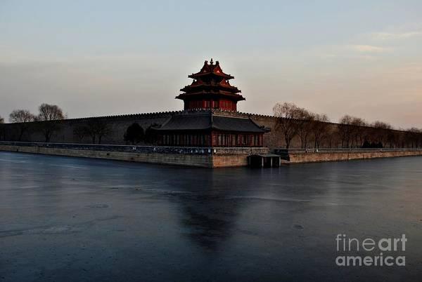 Wall Art - Photograph - Winter Landscape 1 - Forbidden City by Dean Harte