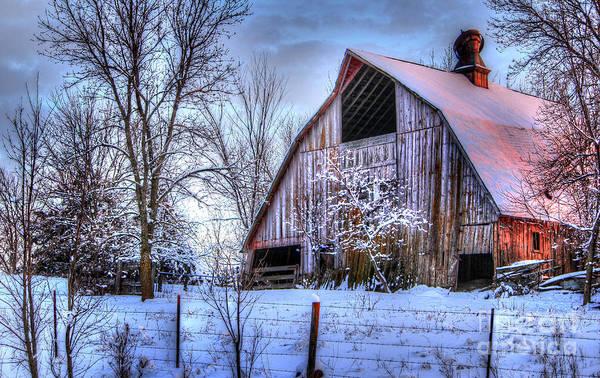 Relics Photograph - Winter Light by Thomas Danilovich