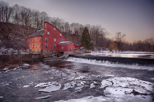Wall Art - Photograph - Winter Mill by Ryan Crane
