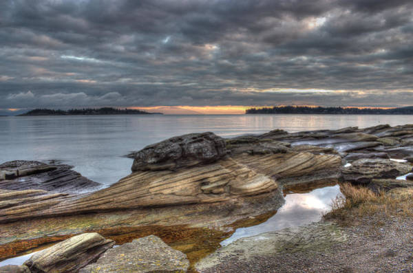 Photograph - Winter Morning At Madrona Point by Randy Hall
