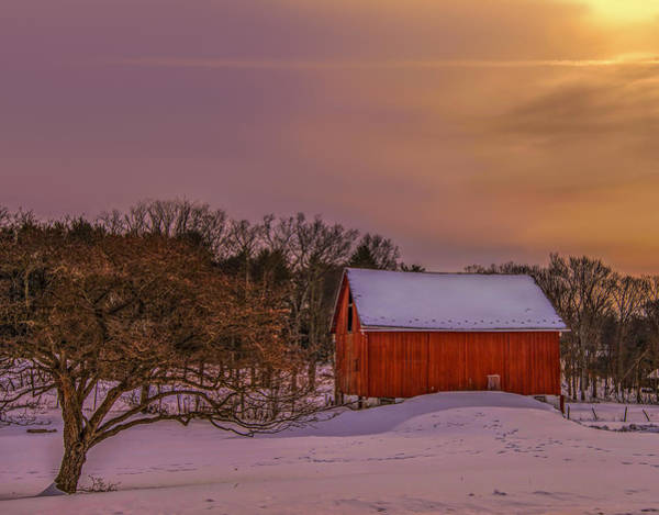 Wall Art - Photograph - Winter Morning by Dave Sandt