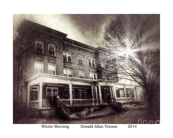 Mount Clemens Photograph - Winter Morning by Donald Yenson