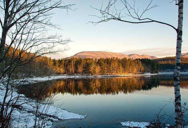 Photograph - Winter Morning Glow by Nancy De Flon
