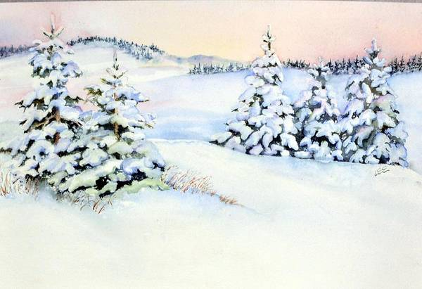 Painting - Winter Morning by Pamela Lee
