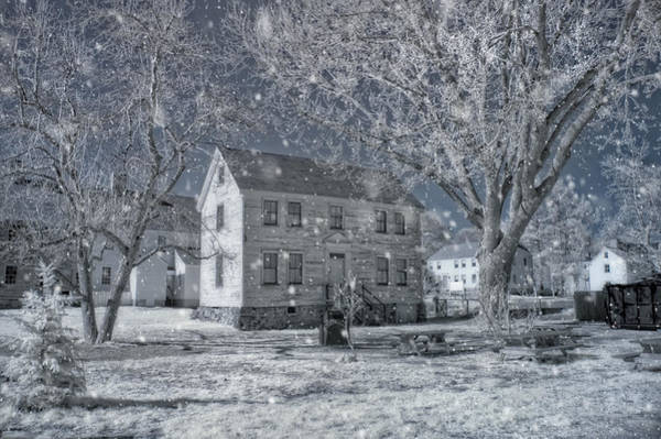 Photograph - Winter Morning - Strawbery Banke - Portsmouth Nh by Joann Vitali