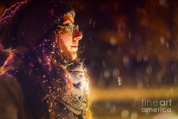 Christmass Photograph - Winter Night 2  by John Jamriska