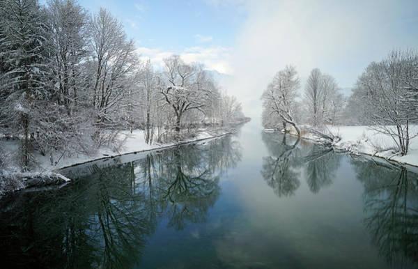 Canals Photograph - Winter by Norbert Maier
