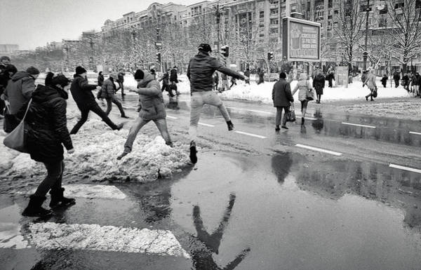 Street Photograph - Winter Olympics by Vlad Eftenie