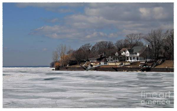 Kingsville Photograph - Winter On Lake Erie by Robin Lusk