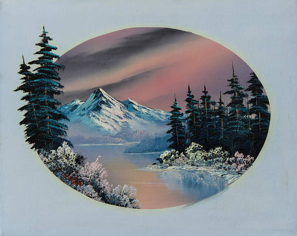 Wall Art - Painting - Winter Tranquility by Chris Steele