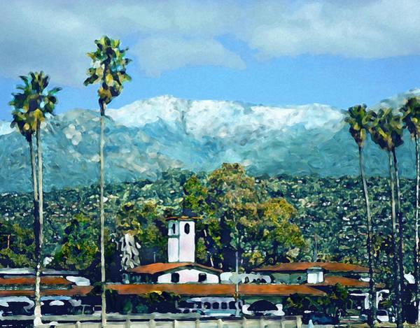 Photograph - Winter Paradise Santa Barbara by Kurt Van Wagner