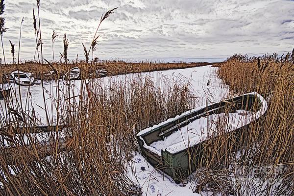 Wall Art - Photograph - Winter Port by Wedigo Ferchland