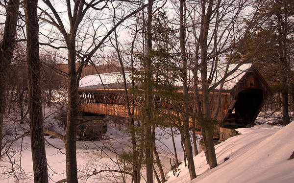 Henniker Photograph - Winter Profile by Paul Mangold