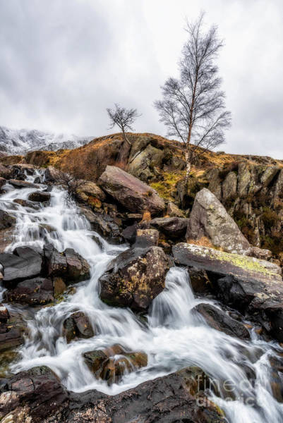 Brook Photograph - Winter Rapids V2 by Adrian Evans