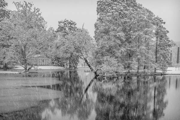 Photograph - Winter Reflection by Keith Allen