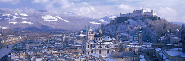 Mozart Photograph - Winter, Salzburg, Austria by Panoramic Images