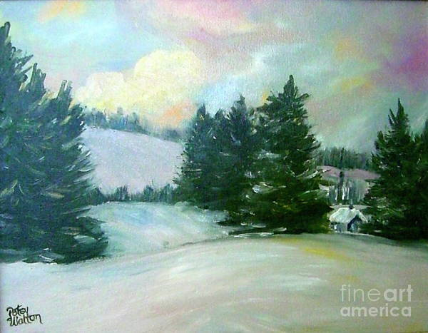Winter Sang In The Chimneys Art Print