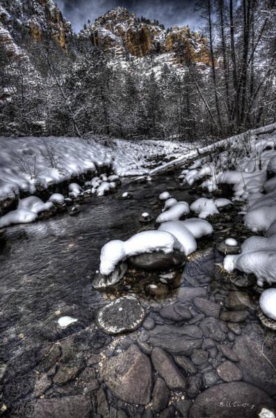 Wall Art - Photograph - Winter Scene by Bill Cantey