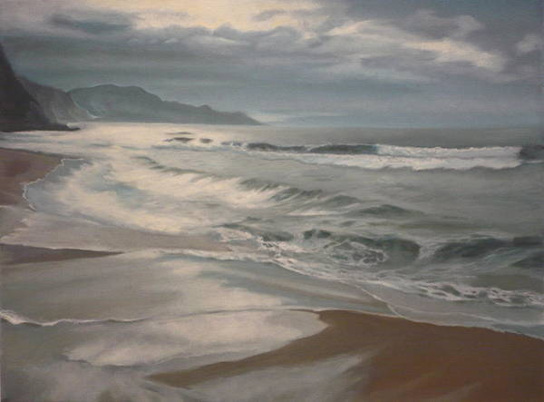 Painting - Winter Sea  by Caroline Philp
