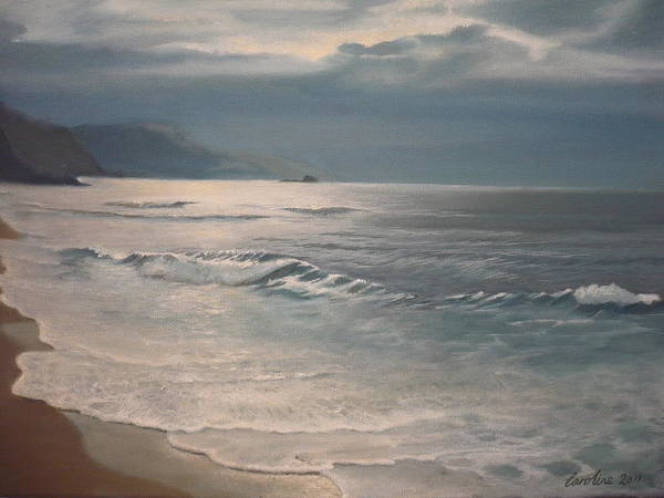 Painting - Winter Sea II by Caroline Philp