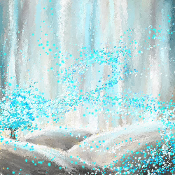 Painting - Winter Showers by Lourry Legarde