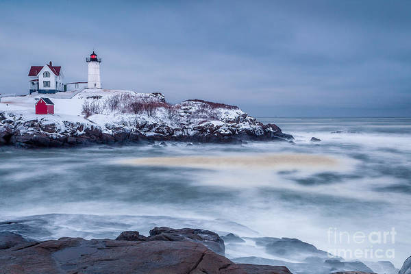 Photograph - Winter Storm At The Nubble by Susan Cole Kelly