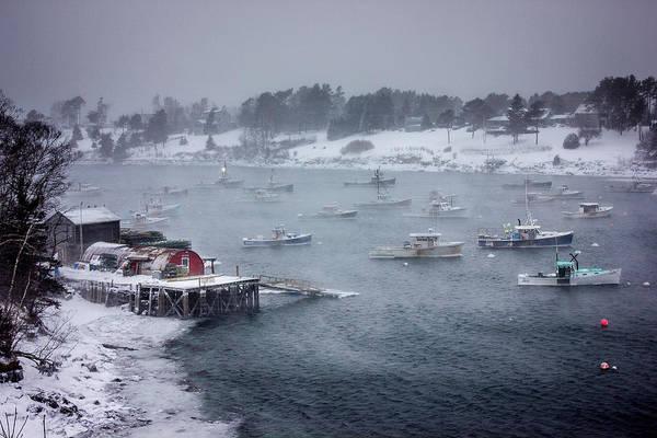 Bailey Photograph - Winter Storm On Mackerel Cove by Benjamin Williamson