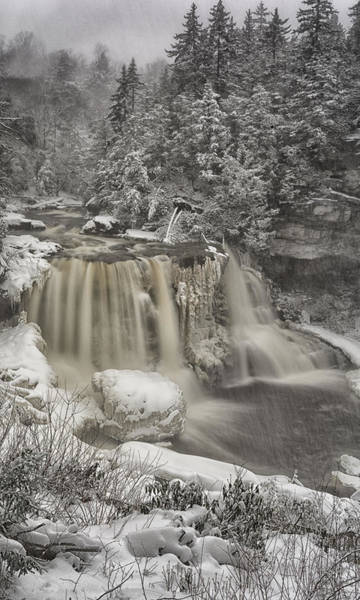 West Virginia Photograph - Winter Storm by Robert Fawcett