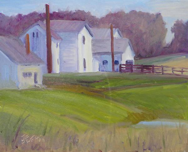 Painting - Winter Sun by Judy Fischer Walton
