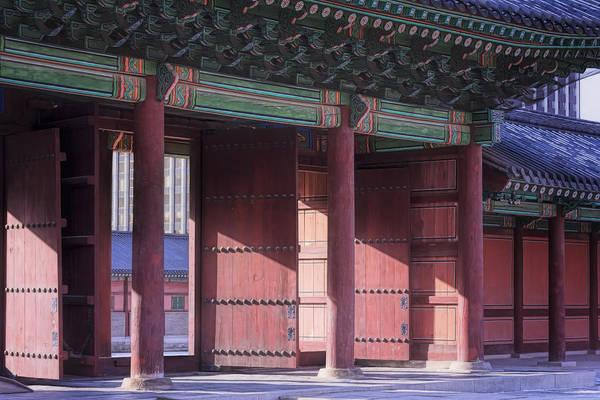 Photograph - Winter Sunlight At Injeongmun Gate Seoul by Joan Carroll