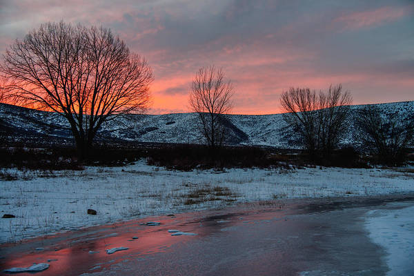 Wall Art - Photograph - Winter Sunrise by Chad Dutson