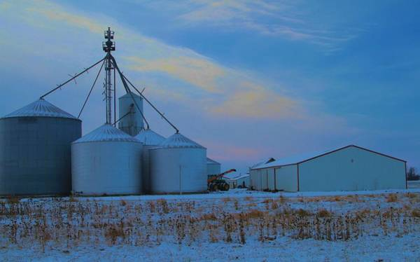 Photograph - Winter Sunrise Country Living by Dan Sproul