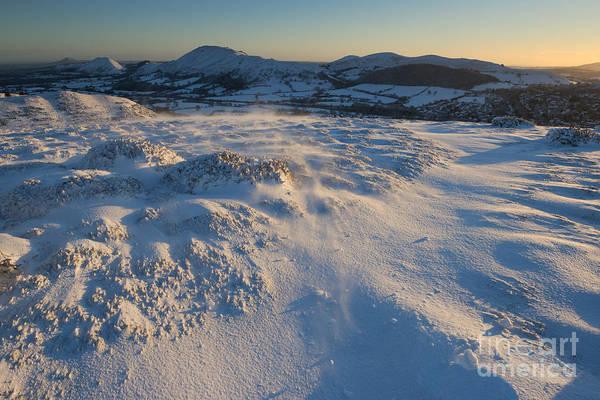 Church Stretton Photograph - Winter Sunrise In Shropshire by John Hayward