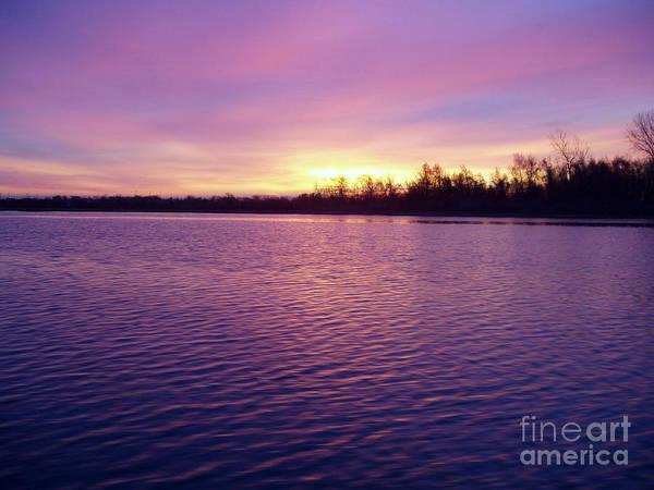 Wall Art - Photograph - Winter Sunrise by John Telfer