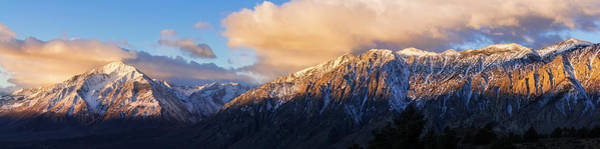Bishop Photograph - Winter Sunrise On Mount Tom by Russ Bishop