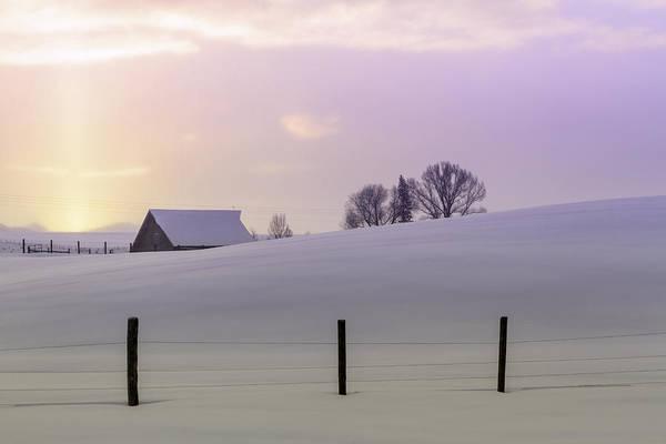 Photograph - Winter Sunrise by Teri Virbickis