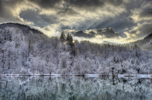 Photograph - Winter Sunset by Ivan Slosar