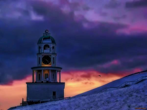 Photograph - Winter Sunset  by Ken Morris