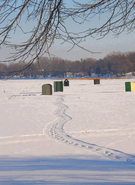 Rockville Photograph - Winter Trails by Jodi Pflepsen