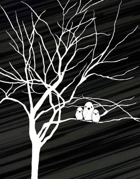 Digital Art - Winter Tree by Natasha Marco