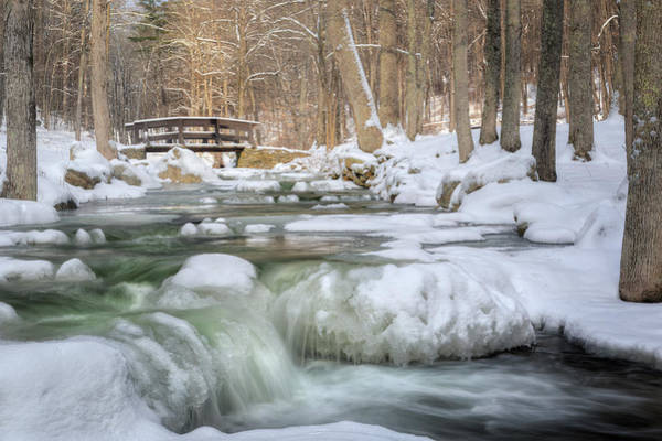 Photograph - Winter Water by Bill Wakeley