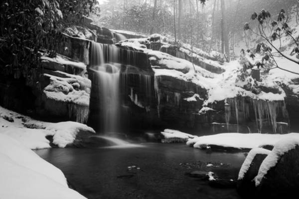 Photograph - Winter Water-bw by Joye Ardyn Durham