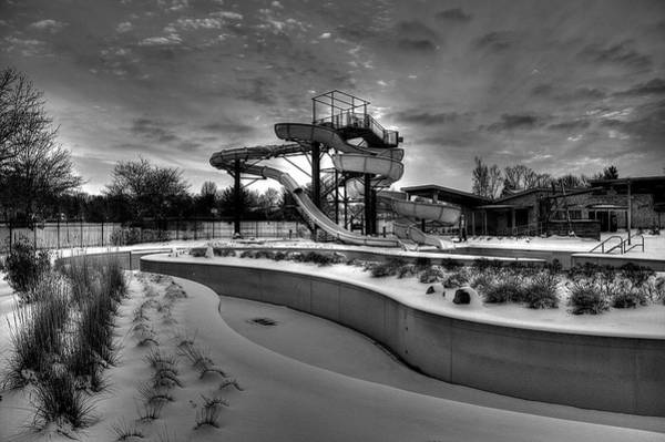 Wall Art - Photograph - Winter Water Park by William Wetmore