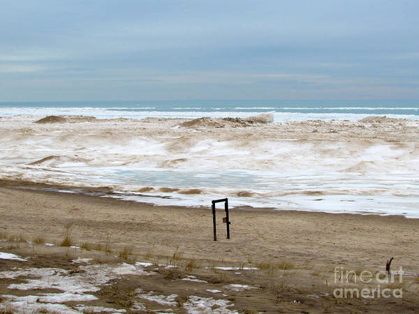 Photograph - Winter Waves by Pamela Clements