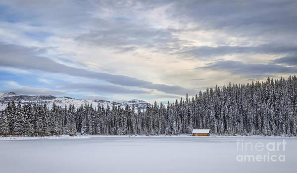 Lake Louise Wall Art - Photograph - Winter Wonderland by Evelina Kremsdorf
