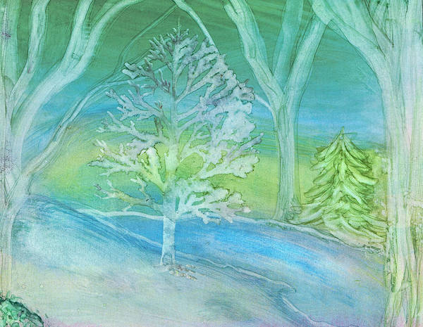 Painting - Winter Wood by Kelly Dallas