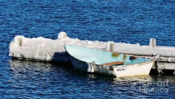 Photograph - Winter Yacht by Karin Pinkham